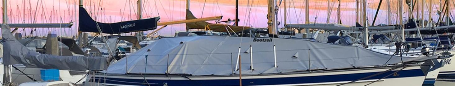 Dekzeil voor zeilboot